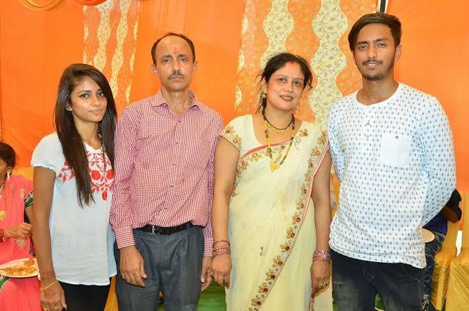 Nisha Guragain Family Photo